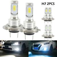 2pcs H7 Kit bombillas LED faros delanteros haz de luz azul 35W automáticos 8000K
