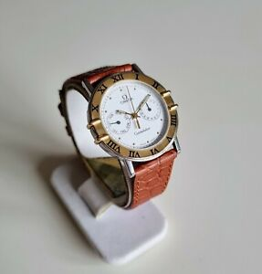 OMEGA Constellation, 18K Gold Bezel, Date and Weekday Subdials, 1990s