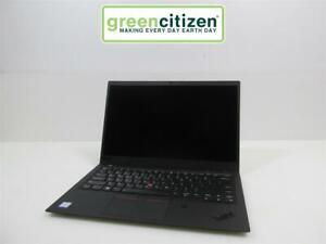 "Lenovo ThinkPad X1 Carbon 6th Gen Intel Core i7-8650U 16GB RAM 14"" NO BATTERY"