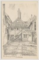 Kent postcard - The Spinning Wheel, Tenterdon - Sketch (A766)