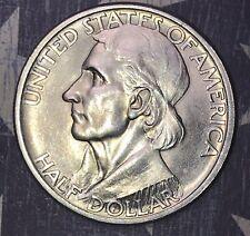 1935-D BOONE COMMEMORATIVE SILVER HALF DOLLAR, FREE SHIPPING