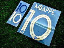 Patch Flocage Nameset MBAPPE #10 ÉQUIPE FRANCE Centenaire 100 ans FFF Doré / Or