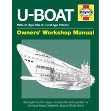 U-Boat 1936-45 Owners Workshop Manual by Haynes