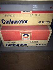 New Delco Rochester Carburetor 17065023 1972-73 Buick 350 A/T 22-1218 22-1218
