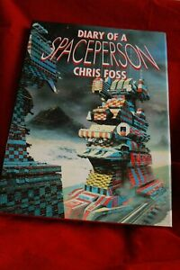 Diary of a Space person CHRIS FOSS Scifi Art spaceships Erotic drawings