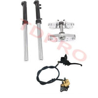 33mm Triple Tree Clamps Front Forks Caliper Master Cylinder for Dirt Pit Bike
