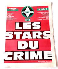 HORS CINEMA - Revue VERTIGE N° 4 - Les stars du crime