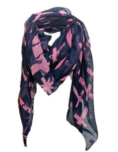 ELSA & ANNA® Viscose Cross Print Lady Scarf Wrap Shaw Stole Maxi Hijab SCF06