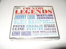 COUNTRY LEGENDS  3 CD READERS DIGEST  2012  64 TRACKS NEW & SEALED