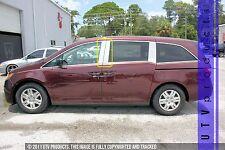 GTG 2011 - 2017 Honda Odyssey 4PC Chrome Stainless Steel Pillars Posts