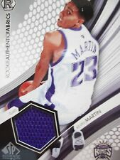 2005 SP AUTHENTIC ROOKIE AUTHENTIC FABRICS KEVIN MARTIN  KINGS   BOX54