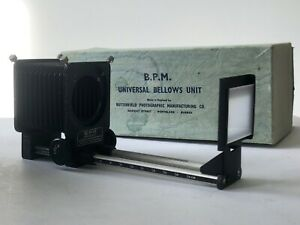 BPM Camera Bellows universal Macro / slide duplicator