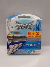 20  Wilkinson Sword Hydro 3 Rasierklingen Neu / OVP