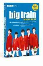 Big Train Complete BBC Series 1 & 2 DVD Amelia Bullmore UK Release New Sealed R2