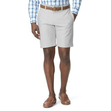 New Chaps Men's Classic-Fit Oxford Flat-Front Khaki Shorts Size 38–42 MSRP $55