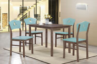 Wood Kitchen Dinette Side Dining Chairs (Set Of 4)