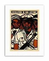 Civil Rights Black Panther Party African Political Canvas Art Print