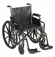 McKesson  62164201 146-SSP220DDA-SF Standard Swing Away Standard Wheelchair