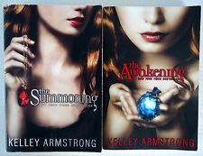 Darkest Hours Trilogy Kelley Armstrong Lot First 2 PB: #1 Summoning #2 Awakening