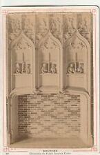 BOURGES CHER CHEMINEE DU PALAIS JACQUES COEUR format CABINET 15 X 10 cm Ca 1890