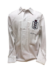 SIR TOM FINNEY SIGNED ENGLAND FOOTBALL SHIRT COA & PROOF PRESTON NORTH END PNE