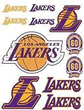 LA Lakers Los Angeles Scrapbooking Craft Sticker Sheet Set #1