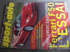 $$q Revue sport auto N°403 Ferrari F50  BMW 323i  GP Magny-Cours Silverstone
