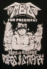 Mez For President Black Tshirt Size Large Bondage D3