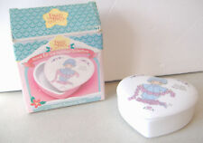 You Have Touched So Many Hearts~Precious Moments~Ceramic Heart Covered Box~