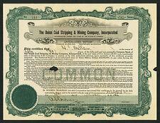 Union Coal Stripping & Mining Company, Virginia, 1920, #744