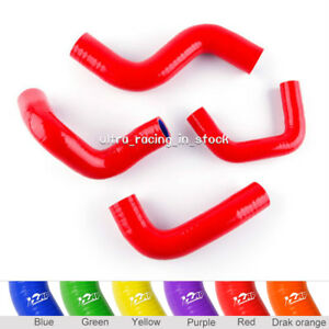 Red For Nissan Micra K11 March K11 4AT CG13DE 1.3L K11C 1992–2003 Silicone Hose
