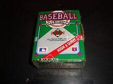 1990 Upper Deck Baseball High # Series Box Factory Sealed Set 701 - 800 Gem Mint