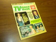 TV DAWN TO DUSK - 1975 November - vintage soap opera/tv magazine - COMPLETE!