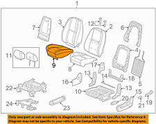 GM OEM Front Seat-Cushion Bottom Cover 20779849
