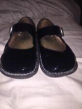 Lafies Alegria Patent Leather Paloma Mary Jane Size 38