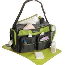 Eddie Bauer Diaper Bag NWOT Gray Green Over The Shoulder Cross Body