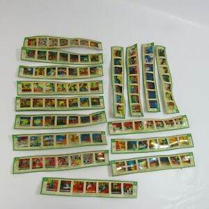 Kenner Give-a-Show Projector Slides Lot of 16 Vintage Flintstones Yogi Bear Ruff