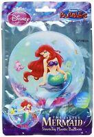 Disney Ariel Little Mermaid Bubble Plastic Balloon Birthday Decoration