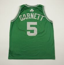 Vintage Kevin Garnett #5 NBA Boston Celtics Basketball Jersey Shirt Champion