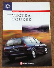 1997 VAUXHALL VECTRA TOURER 1.8i 16v Sales Brochure - Special Edition Estate