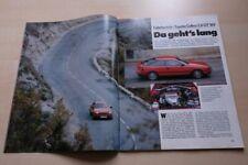 Sport Auto 5781) Toyota Celica 2.0 GT 16V mit 150PS im Fahrbericht auf 4 Seiten