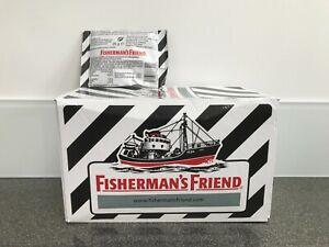 FISHERMAN'S FRIEND LIQUORICE MENTHOL LOZENGES 24 x 25g PACKS EXP DEC 22 REDUCED