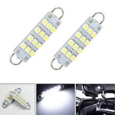 4pcs 561 562 567 564 12 SMD 44mm Rigid Loop White LED Car Light Bulbs Durable