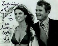 CAROLINE MUNRO signed Autogramm 20x25cm JAMES BOND In Person autograph COA