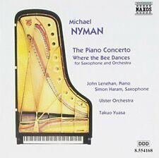 Michael Nyman Piano concerto/Where the Bee Dances.. [CD]