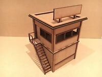 1/32 Scale Building Race Stewards Hut, Slot Car, Scalextric Or Magnetic Racing