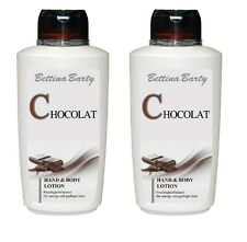 Bettina Barty Chocolat  Hand & Body Lotion 2 x 500 ml Sparset !!