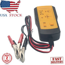 12V Electronic Automotive Relay Tester Car Auto Battery Checker  AE100 US SHIP