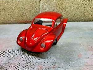 custom painted vw body for traxxas erevo 1/16 candy red