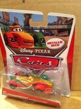 """Disney Cars Diecast - """"Rip Clutchgoneski con acabado metálico"""" - de franqueo combinado"""